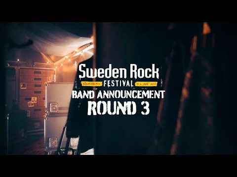 SWEDEN ROCK FESTIVAL 2020 Band Announcement - ROUND 3