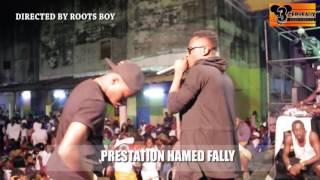 PRESTATION DE HAMED FALLY  AU CONCERT LIVE DE DJ LEO AU NPA