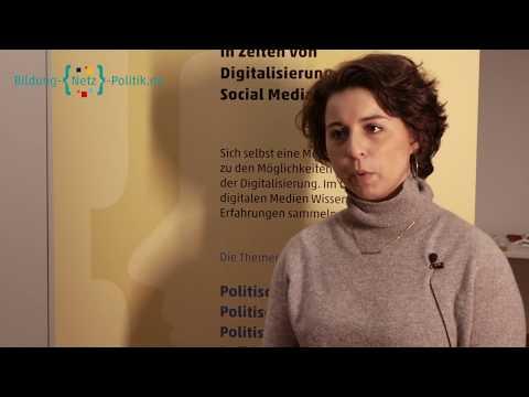 Vera Linß im Gespräch mit Sheherazade Becker über Generationenunterschiede bei der Nutzung digitaler Techniken (Digitale Jugendkonferenz TINCON)