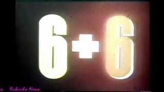 Comercial do LP '6 + 6' (1986)