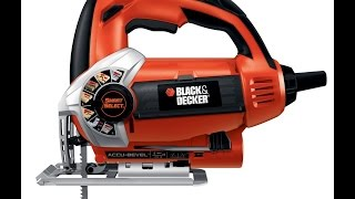 Review: Black & Decker JS660 Jig Saw with Smart Select Dial