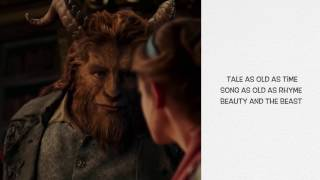Beauty And The Beast  - Ariana Grande &  John Legend (Official Video Lyrics)