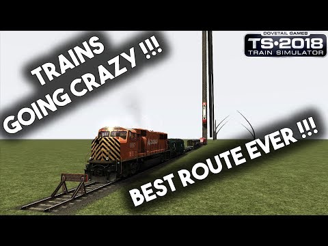 Train Simulator 2018 Best Route Ever