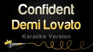 Demi Lovato - Confident (Karaoke Version)