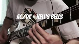 AC/DC - Hell's Bells cover with Les Paul studio alpine white