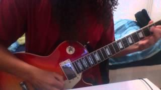 Alter Bridge - Blackbird guitar solo cover (Mark Tremonti's solo)
