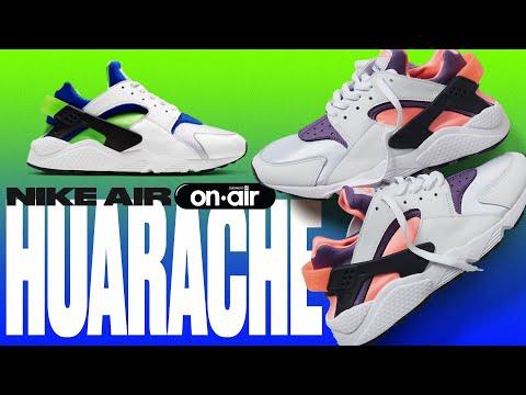 O NIKE AIR HUARACHE De Volta Em Duas Cores OG! | SneakersBROnAIR 189: Nike Air Huarache