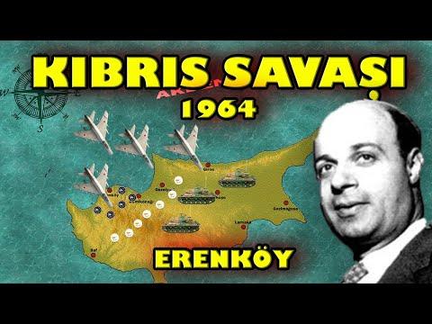 1963 KIBRIS SAVAŞI || Erenköy Destanı (Haritada Anlatım) TMT-EOKA