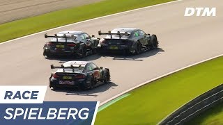 Triple Fight: Wittmann vs Wickens vs Rast - DTM Spielberg 2017
