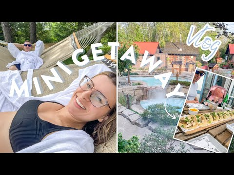 MINI FAMILY GETAWAY | A Day at The Spa, What We Ate & More!