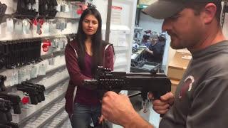Robert Vogel explains how he controls a handgun