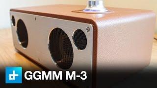 GGMM M-3 retro Wi-Fi/Bluetooth stereo