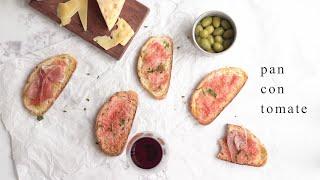 Pan Con Tomate  (Pão com Tomate Espanhol) | Receitas pelo Mundo