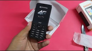 Micromax Bharat 1 Unboxing   Better 4G VoLTe Phone than Jio Phone? width=