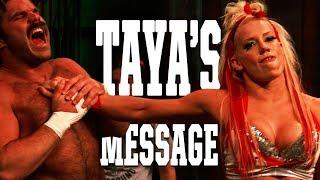 Taya envía un mensaje a Jeremiah Crane