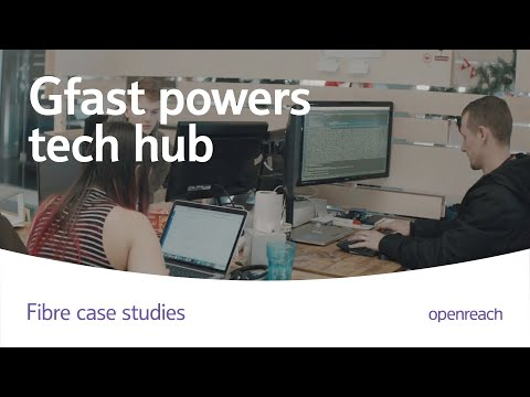 Techhub Swansea; Powered by GFast
