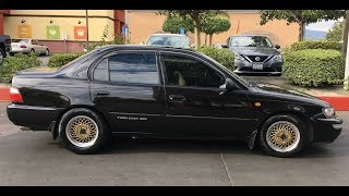 """4AGE """"Blacktop"""" Swapped 1995 Toyota Corolla – One Take"""
