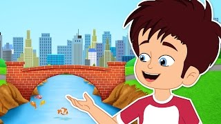 London Bridge Is Falling Down | Nursery Rhymes With Max And Louie | CDS Kids Tv