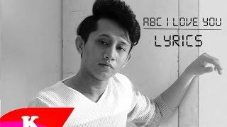 ABC ( i love you ) Syed Shamim- Lyric