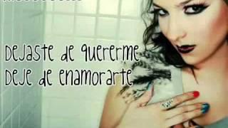 Se Desintegra el amor - KARAOKE Paty Cantu - Lyricsmusiica