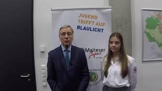 [JtaB] Interview: Wolfgang Clement | Jugend trifft auf Blaulicht | Bornheim