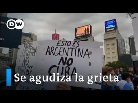 Argentina: marcha contra la expropiación de Vicentín
