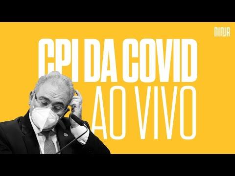 CPI Da Pandemia - Ministro da saúde Marcelo Queiroga e presidente da Anvisa