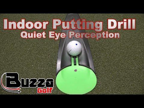 Indoor Putting Drill (Quiet Eye Perception, 1,1,1)