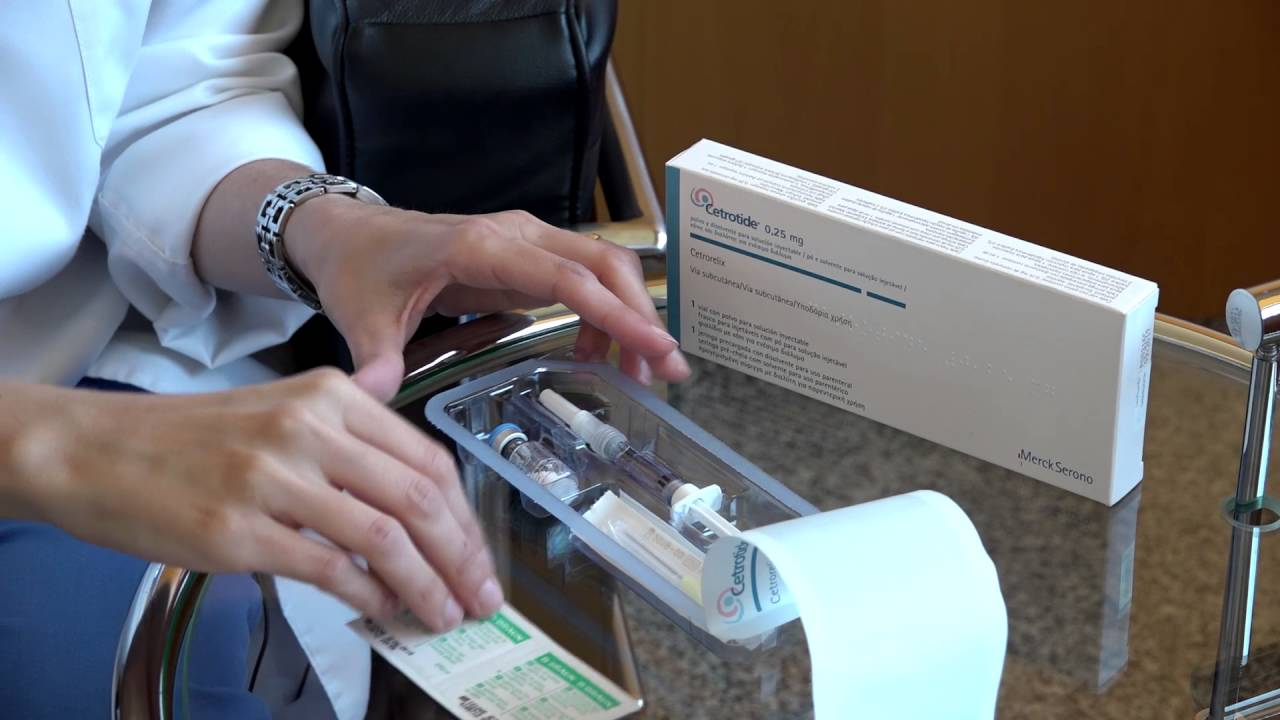 Cetrotide®: Medication preparation and administration.