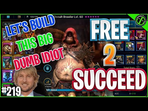 Getting This Fat Jerk Ready For Clan Boss | Free 2 Succeed - EPISODE 219