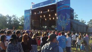 """LIVE: Umphrey's McGee cover of """"Rock the Kasbah"""" LouFest 2015"""
