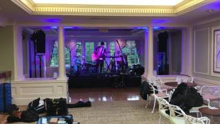 Jacob Collier Sound Check Hideaway on Acoustic Guitar Before Performance at The Johns Hopkins Club