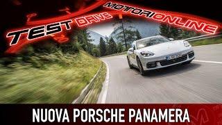 Nuova Porsche Panamera | Test Drive in Anteprima