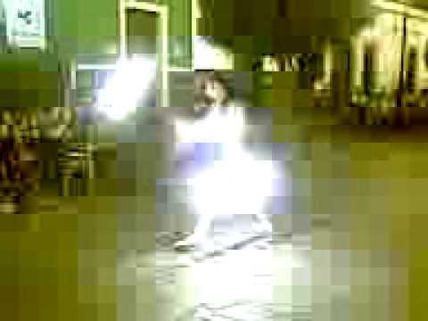 Malabares con fuego en la calzada (1)