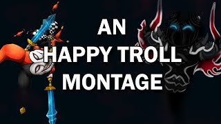 AN HAPPY TROLL MONTAGE ! (ft. Shaco & Nocturne)