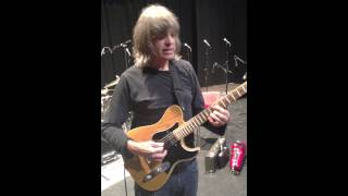 Mike Stern tries out the Red Witch Empress Chorus Pedal.