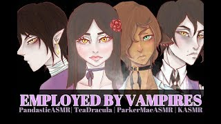 Employed by Vampires | ASMR Roleplay | 7k Special