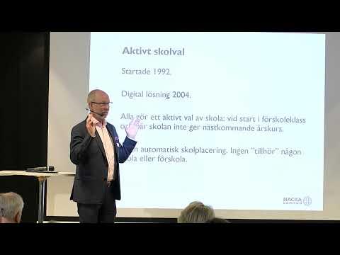 Hur fungerar aktivt skolval i Nacka? - Mats Gerdau (M)