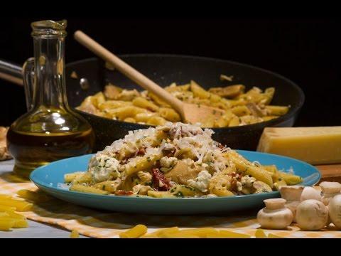 Tjestenina s piletinom na mediteranski - Fini Recepti by Crochef