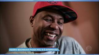 Hora da Venenosa: cantor Buchecha passa mal e é internado às pressas