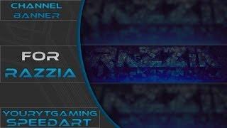 Razzia - Channel Banner Speedart