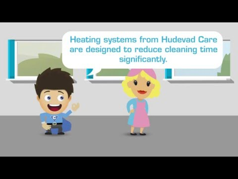 Hudevad Care - Concept of Hygienic Heating