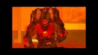 Red vs Blue Skrillex   Bangarang Dubstep Action Montage