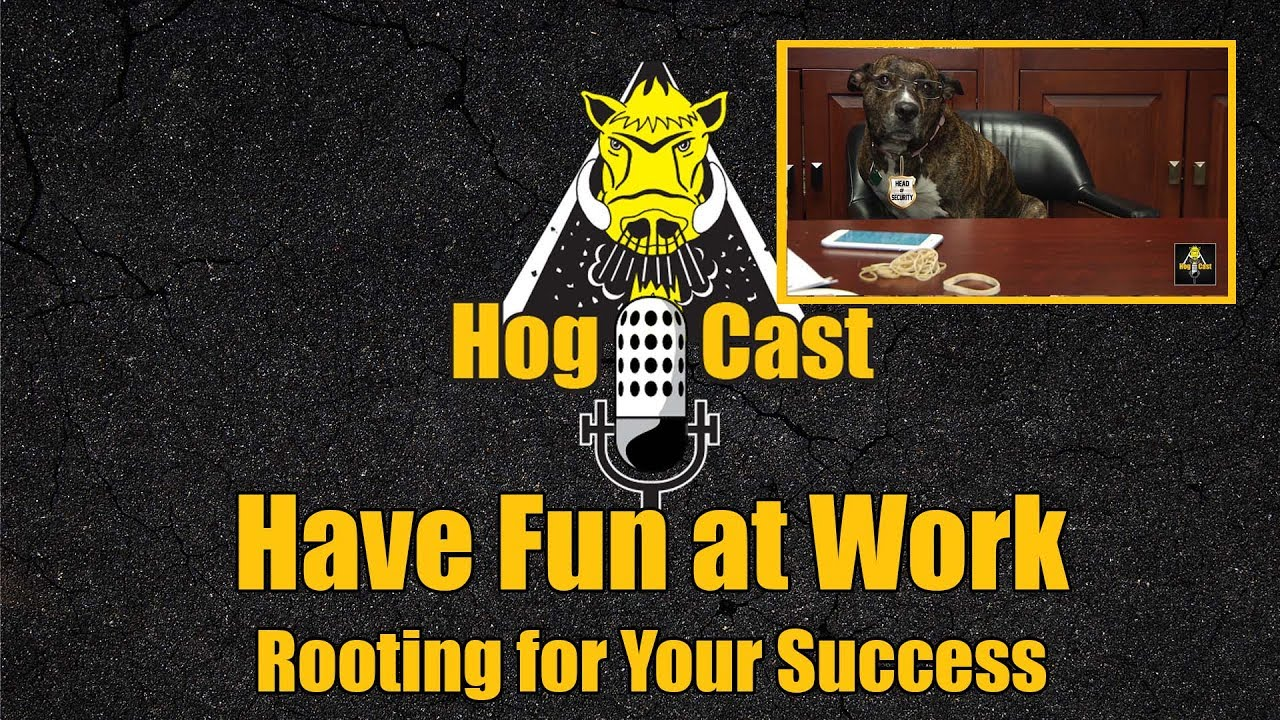 Hog Cast - Have Fun At Work