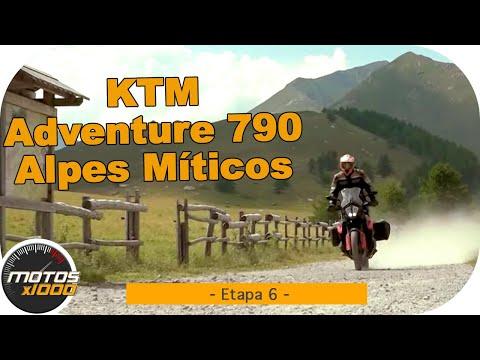 Ruta Alpes Míticos con la KTM 790 Adventure | Etapa 6 | Motosx1000