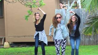 Happy - Pharrell Williams Official Music Video Cover - Gardiner Sisters