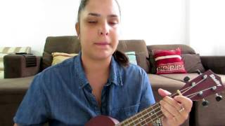 Minha Felicidade - Roberta Campos (Ukulele cover)