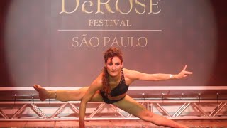 DeRose Festival São Paulo 2014 - Coreografias do Método DeRose - Professora Yael Barcesat