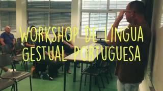 Socialismo 2016 | Workshop de Língua Gestual Portuguesa | ESQUERDA.NET