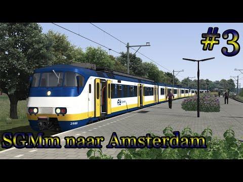 Sprinterdienst naar Amsterdam - Train Simulator 2017 (Livestream #3)